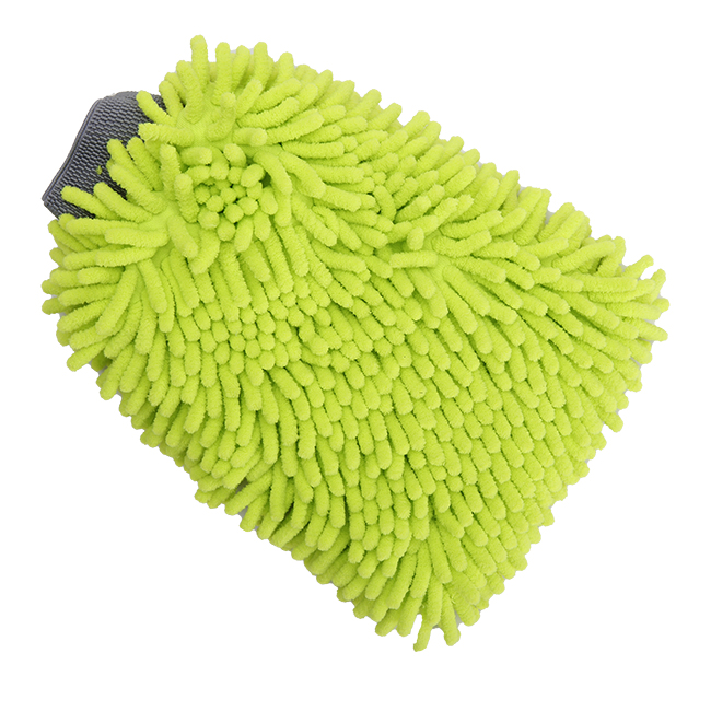 Whole Case Microfiber Chenille Swirl-Free Car Wash Mitt Dust Glove, 12