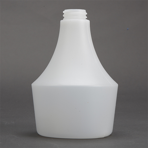 500 ML PE Vase (round) Bottle, Milky White, Light Weight, 28/400mm Cap Size, Pack of 6