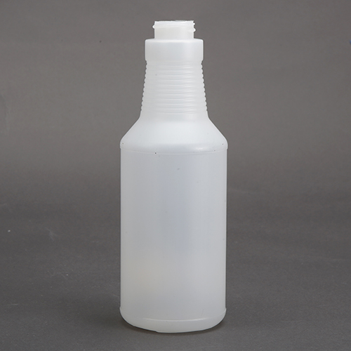500 ML PE Carafe (skinny) Bottle, Milky White, Light Weight, 28/400mm Cap Size, Pack of 6