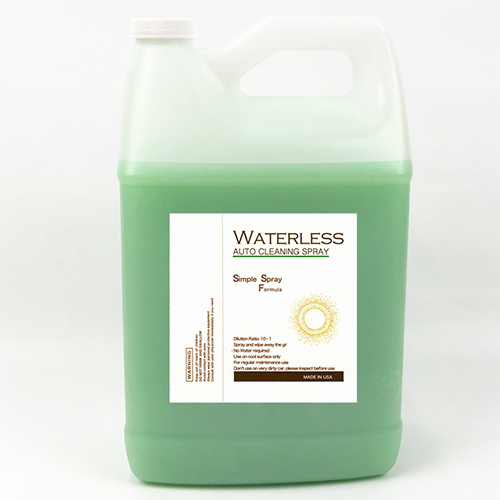Cleaner - Eco GST Waterless Car Wash Spray, 5 Gallon
