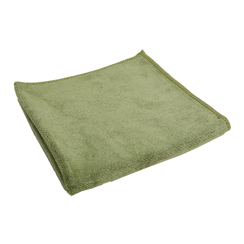 Microfiber Low Pile Towel for Removing Coating, 380 GSM, 15