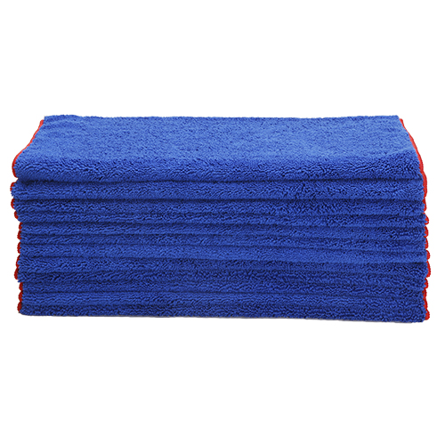 Microfiber Car Wash Drying Towel Lint Free, Scratch Free, Overlocked Edges, 380 GSM, 24