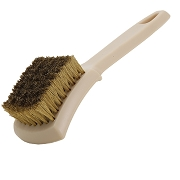 "9"" Brass Bristle Engine Cleaning Brush, Pack of 12"