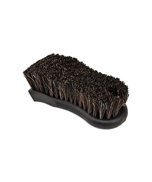 Natural Horse Hair Automotive Interior Leather Upholstery Brush, Brown,  Pack of 12