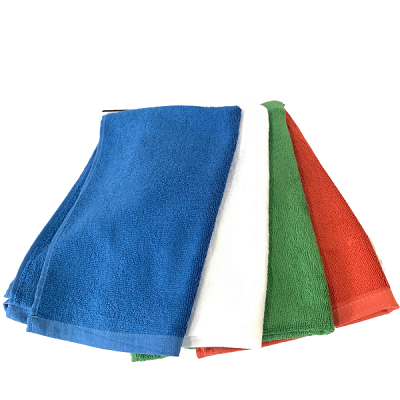 COTTON TERRY CLOTH CLEANING TOWELS Pack of 12pcs