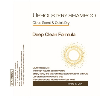 Soap - Upholstery & Carpet Citrus Shampoo, 1 Gallon