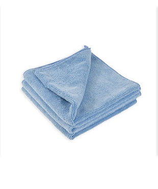 Microfiber Multi-Purpose Wiping Towel Auto Detail, Janitorial Cleaning Cloths, 380 GSM, 16