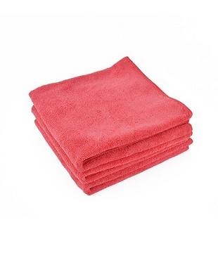 Microfiber Towel Auto Detailing Best Polishing And Cleaning Chrome Surfaces, 380 GSM, 24