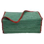 Microfiber Elite Polishing Towel Buff off Waxes and Sealants to Luxury Shine Finish, 380 GSM, 24