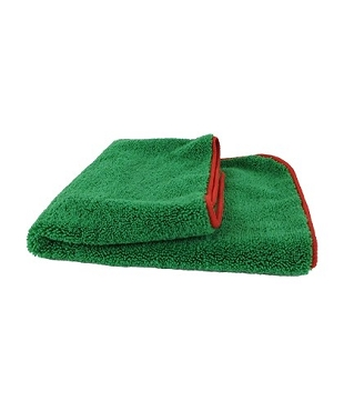 Microfiber Car Wash Drying Towel Lint Free Scratch Free Overlocked Edges, 380 GSM, 24