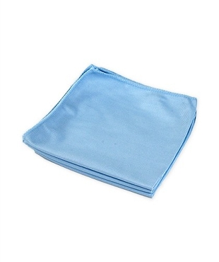 Ultra-Fine Silk Microfiber Glass Cleaning & Shining Towel, 290 GSM, 16