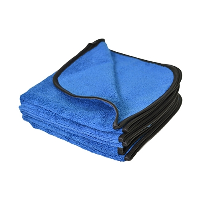 Microfiber Premium Polishing Towel Dense Weave with High & Low Pile, Super Absorbent For Buffing, 500 GSM, 16
