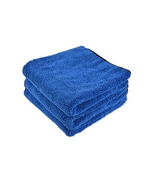 Microfiber Premium Polishing Towel Dense Weave with High Pile Super Absorbent For Drying, 500 GSM, 24